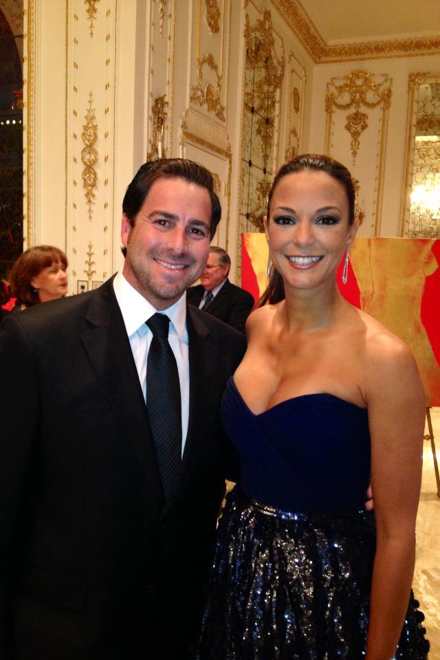 Evan Golden and Emmy Award Nominated Actress Eva LaRue