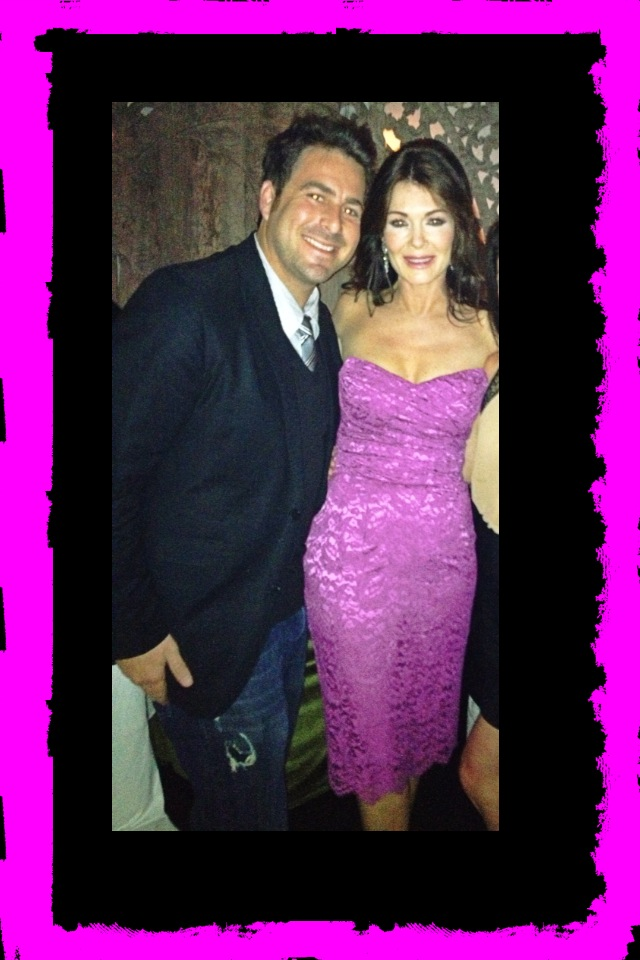 Evan Golden and Lisa Vanderpump